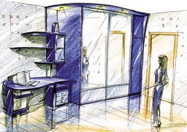 Рисуем корпусную мебель